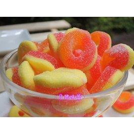 3 號味蕾^~捷克Gummy Candy酸桃圈QQ600公克140元