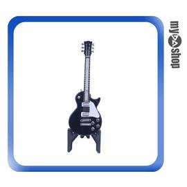 ~DA量販店~電吉他  瓦斯 打火機 附架 可重複 隨身 飾品 黑色樣式 78~2925
