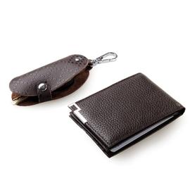 ~米蘭秀~~義大利 小牛皮真皮 訂製~bm67(男證件夾 鑰匙包)皮夾短夾長夾信用卡夾名片