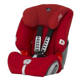 【紫貝殼】『GCF07-2』英國原裝 Britax Rmer Evolva (9個月~12歲) 旗艦成長型汽車安全座椅(紅)