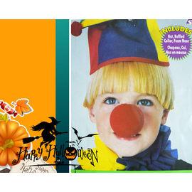 【HH婦幼館】馬戲團小丑造型三件套.萬聖節/聖誕節/Cosplay表演服裝/角色扮演.