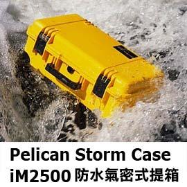 Pelican Storm Case iM2500 防水氣密式提箱 ^(黑色、黃色、墨綠色