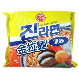 【吉嘉食品】韓國進口‧不倒翁-金拉麵(原味)‧每包120公克27元{8801045520292:1}