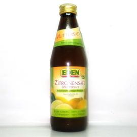 德國EDEN有機檸檬汁330cc 罐~~~民雄有機世界~~~
