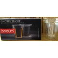 yudo cafe~ Bodum 全玻璃茶葉咖啡雙層濾杯組 瑕疵品~~只有杯子是瑕疵, 是