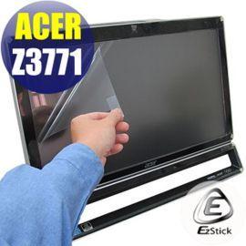 ~EZstick~ACER AIO Z3771 21.5吋寬 LCD靜電式霧面螢幕貼 多點