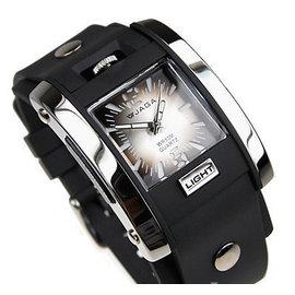 JAGA AQ81 品味冷光指針錶 指針款 防水30M LED冷光錶面防水超