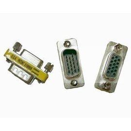 VGA公對母/公轉母 15針轉15孔 延長線轉接頭/轉接器