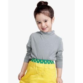 lifeway 製 Child蓄熱保暖衣~半高領 ^(純淨白^)