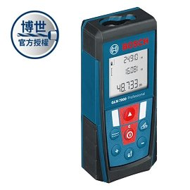 BOSCH 雷射測距儀GLM 7000(70m)★可立即換算台尺與坪數★因應環境 改變測量基本面★專為台灣設計