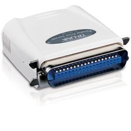 TP~LINK 單一平行埠乙太 列印伺服器 ^( TL~PS110P ^)