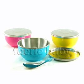 小蟻布比香醇不鏽鋼雙層碗+白鐵蓋11.5cm