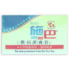 施巴嬰兒潔膚皂100g