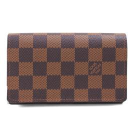 Louis Vuitton LV N61736 Damier 棋盤格紋拉鍊中夾 停產 價
