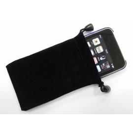 iphone/ipod/HTC/Samsung/sony/mp4 手機布袋/手機套/布套/保護套 (7X11CM) 黑 [ABO-00006]