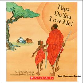 ~父親節繪本~Papa Do You Love Me