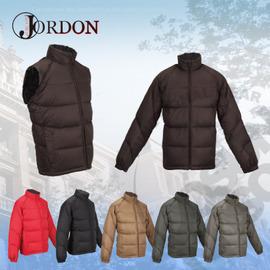 【橋登Jordon】男款 雙面脫袖羽絨外套 /質輕.保暖.多樣穿搭.機能時尚1073I -褐黑
