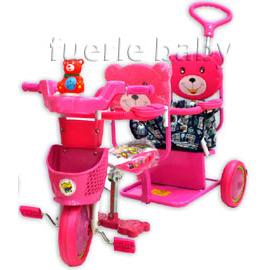 雙人兒童三輪車(670)