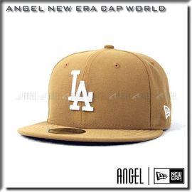~ANGEL SHOP~NEW ERA MLB 洛杉磯道奇 LA 大麻 土黃底白字 59F