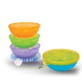 【紫貝殼】『DA03』Munchkin 餅乾盒組4入【防滲漏設計/可堆疊/方便儲存】【保證原廠公司貨】【店面經營/可預約看貨】