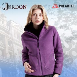 【橋登 Jordon】POLARTEC Classic 200 女款 保暖刷毛外套 / 防潑水.透氣.排汗.質輕.保暖.彈性.快乾.機能時尚 726-紫色