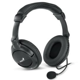 Genius HS~510 X 黑色尊爵型頭戴式耳機麥克風