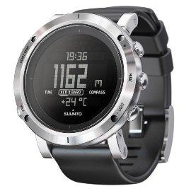 【芬蘭 SUUNTO】新型 Core Brushed Steel 不鏽鋼運動錶.多國語言登山錶.自助旅行錶,具高度計.指北針.氣壓計