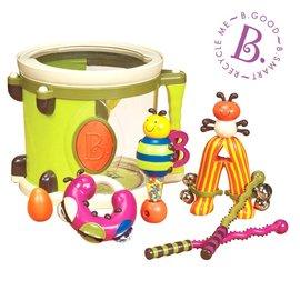 【紫貝殼】『CGA19 』【美國B.Toys感統玩具】砰砰砰打擊樂團~榮耀美國國際組最佳玩具【店面經營/可預約看貨】
