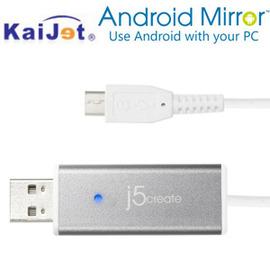 Kaijet 凱捷 j5create JUC600 Android Mirror 魔鏡控制