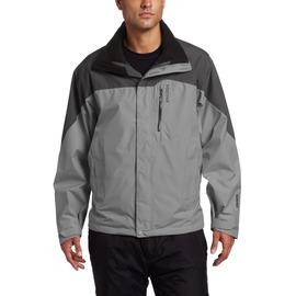 【土撥鼠 Marmot 】男 GORE-TEX 可拆式二件式外套(內層Polartec 200)/超輕防水透氣(非羽絨衣).雪衣 30420 煤灰色/深灰色