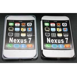 Google Nexus 7 平板電腦 保護果凍清水套 / 矽膠套 / 防震皮套