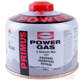 220794瑞典PRIMUS超強瓦斯罐(中) 高山瓦斯罐 高壓瓦斯瓶 攻頂爐 淨重230g