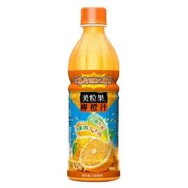 美粒果柳橙汁450ml^(24入^)1箱 蔬菜餅 梅心糖 蜜餞 黑糖話梅 蛋捲 巧克力 綠
