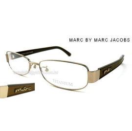 ^# 眼鏡^# 美國 MARC BY MARC JACOBS  玫瑰金色鈦金屬鏡架 貨 5