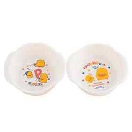 黃色小鴨幼兒牛奶碗(雙耳) (微波爐專用)(63052)