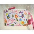 Hello Kitty^(凱蒂貓^) 防水票夾 卡片夾 零錢包  489159594914