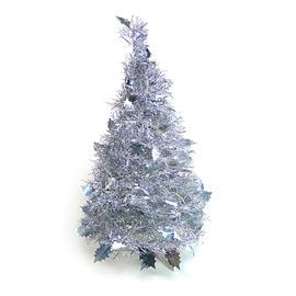 ~心可樂活網~2尺 2呎 60cm  彈簧摺疊聖誕樹  銀色系   本島免