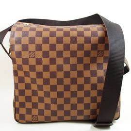 ~9.5成新~Louis Vuitton LV N45255 NAVIGLIO 棋盤格紋上