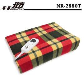 【五段式溫度調整.免運費!】北方雙人安全電熱毯NR-2880T