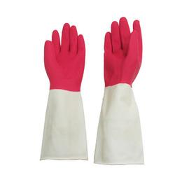 康乃馨高級雙色家用手套X3雙入