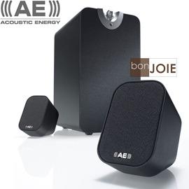 ::bonJOIE:: 英國 Acoustic Energy Aego M 黑色 2.1聲