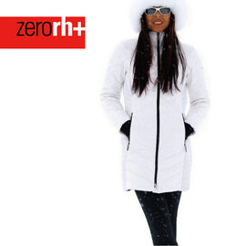 ZERORH 義大利 長版 保暖鵝絨連帽大衣外套^(女^) IWD4164