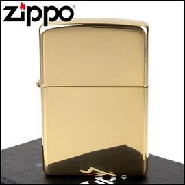 ◆斯摩客商店◆【ZIPPO】美系~Solid Brass~純銅高磨光金色鏡面(寬版)NO.254B