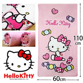 ~esoxshop~ Sanrio Hello Kitty 凱蒂貓點點糖果小浴巾│ ~兒童