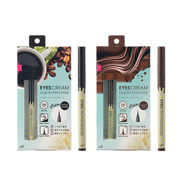 MSH EYESCREAM 冰淇淋防水眼线液N升级版(黑咖啡/巧克力) 0.55ml  ↑美力向上购↑