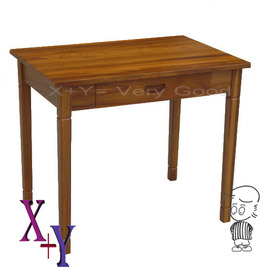 ~X Y 傢俱~ 柚木 系列~緬甸柚木3尺單抽書桌~可當辦公桌 中國風禪味.摩登