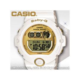 CASIO卡西歐 手錶  Baby~G BG~6901~7D 女錶 電子錶 金屬光澤 防水