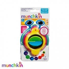 【紫貝殼】『CA32』美國-Munchkin毛毛蟲洗澡杯 ~洗澡數字顏色玩具.洗澡水杯【店面經營/可預約看貨】