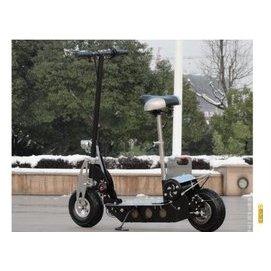 都市酷炫款電動滑板車 折疊電動車 36v折疊電瓶車 黑色