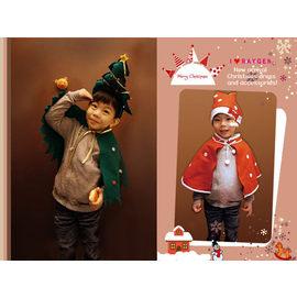 聖誕樹.老公公披風套裝/聖誕節/造型髮箍/聖誕襪/化裝舞會【HH婦幼館】